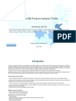 China Silk Products Industry Profile Cic1754