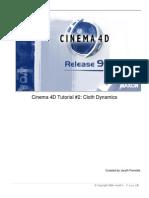Cinema 4D Cloth Dynamics