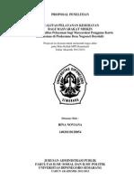 Proposal Penelitian Kuantitatif