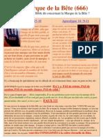 French La Marque de La Bete 666