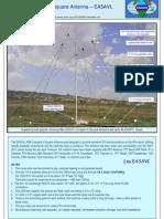 40 m Compact 4 SQuare Antenna - EA5AVL 1