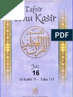 Tafsir Ibnu Katsir Juz 16