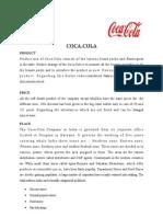 4 P's of Coca Cola