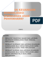 Laporan Keuangan Konsolidasi ( Ilham)