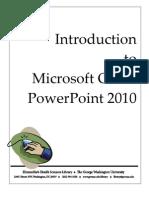 0. Intro Power Point 2010