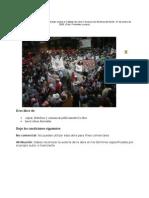 Organizaciones Campesinas Marchan Contra El Tratado de Libre Comercio de América Del Norte