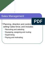 1 Sales Management Ifim
