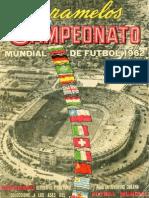 Album Cromos Panini - Mundial Futbol 1962 Chile