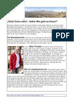 1 Bericht (20 Juli - 20 August)