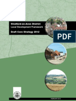 Stratford-On-Avon District LDF - Draft Core Strategy 2012
