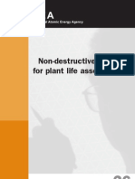 Non-Destructive Testing for Plant Life Assessment
