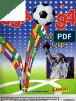 Album Cromos Panini - Mundial Futbol 1994 Estados Unidos
