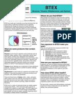 BTEX Fact Sheet