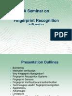 Fingerprint Recognition Ppt
