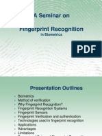 Fingerprint Recognition Ppt