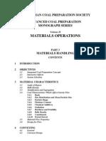 Material Handling-Contents Volume II
