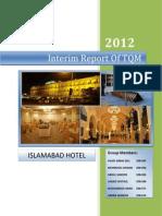 Interm Report of TQM