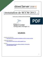 Installation de SCCM 2012 (tuto de A à Z)