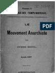 Jacques Mesnil - Le Mouvement anarchiste (1897)