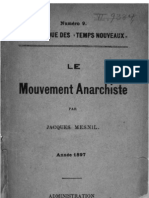 Jacques Mesnil - Le Mouvement anarchiste (1897)