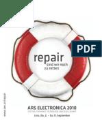 Ars Electronic A Festival 2010 Program