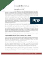 INDIA BUDGET 2012-13 <Analysis by Prabhu T Srinivasan>