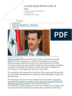 Exclusive Assad and Syria