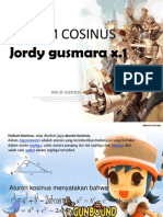 Hukum Sinus Cosinus