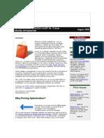 RetailNet Group Pricing Optimization