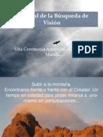 Presentación Búsqueda de Visión