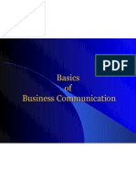 Basics of Business Communication