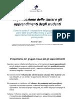 Fondazione Agnelli - Formazione Delle Classi e Risultati Scolastici