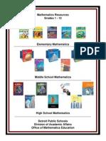 Mathematics Resources 3-2-12