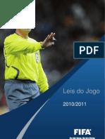 Leis de Jogo Futebol 11 PAFD