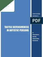 Tactile Defensiveness &Autism