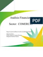 Analisis Financiero Sector Comercio