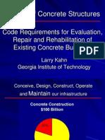 Larry Kahn - Repair of Concrete Structures