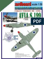 (Marek_2003-12) Paper Card Models Avia_S-199_IAF[1]
