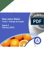 Raw Juice Watch February 2012