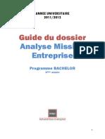 Guide Du Dossier a.M.E. 1112 Alternants