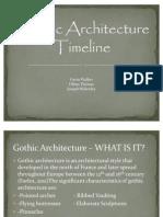 Gothic Architecture Timeline