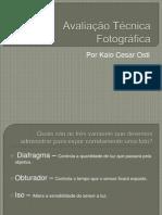 Avaliação técnica fotográfica
