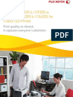 DocuPrint Colour 105 205 Series Web Ccba