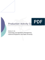 Production Activity Control