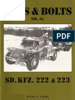 Nuts and Bolts Vol 04 Sdkfz 222 & 223