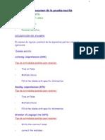 Resumen de La Prueba Escrita (2)