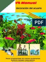 montaje y decoracion del acuario