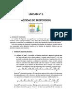 Unidad 2 (2da Parte) - Medidas de Despersion