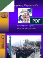 Disciplina y Organización Asonbomd