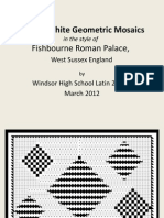 Black &White Geometric Mosaics